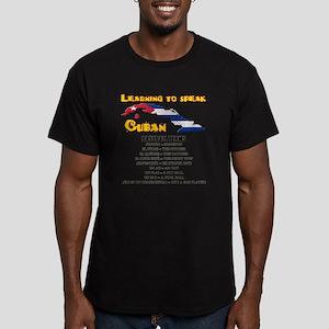 BASEBALL TERMS copy Men's Fitted T-Shirt (dark