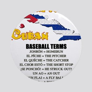 BASEBALL TERMS copy Ornament (Round)