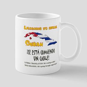 SE ESTA COMIENDO UN CABLE copy Mug