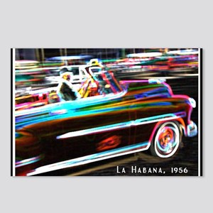 la habana copy Postcards (Package of 8)