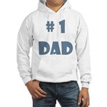 #1 Dad (Bl) Hooded Sweatshirt