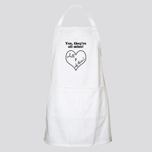 YES, THEYRE ALL MINE - CUSTOMIZABLE Apron