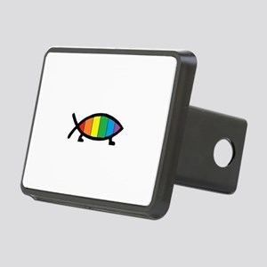 Gaytheist Rectangular Hitch Cover