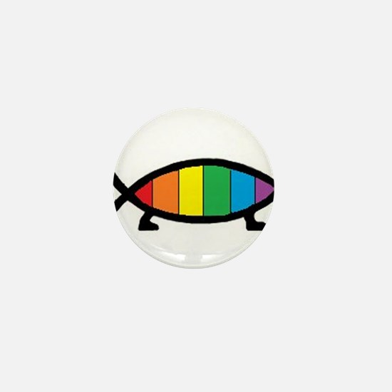 Gaytheist Mini Button