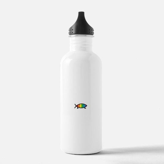 Gaytheist Water Bottle