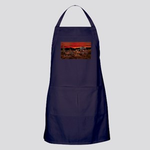 Stagecoach Cowboys Apron (dark)
