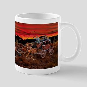 Stagecoach Cowboys Mugs