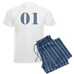 O1 Father Men's Light Pajamas