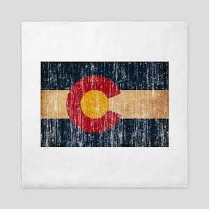 Colorado Flag Queen Duvet