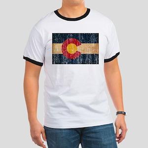 Colorado Flag Ringer T