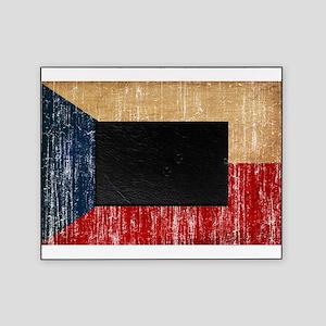Czech Republic Flag Picture Frame