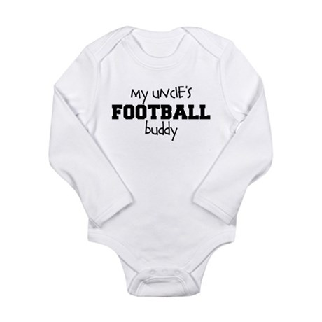 My Uncle's Football Buddy Baby Bodysuit - Long Sl
