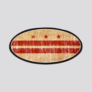 District of Columbia Flag Patches