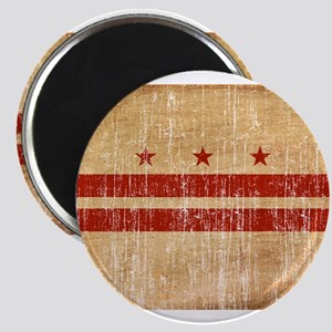 District of Columbia Flag Magnet