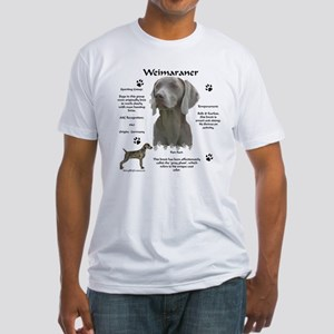 Weim 3 Fitted T-Shirt
