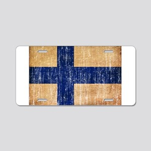 Finland Flag Aluminum License Plate