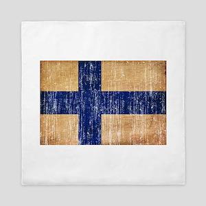 Finland Flag Queen Duvet