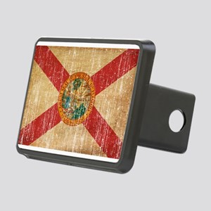 Florida Flag Rectangular Hitch Cover