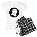 GasMaskWithEyeShieldV_2 Women's Light Pajamas