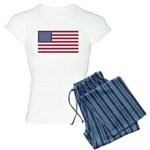 US Flag XL Women's Light Pajamas