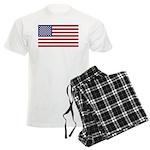 US Flag XL Men's Light Pajamas