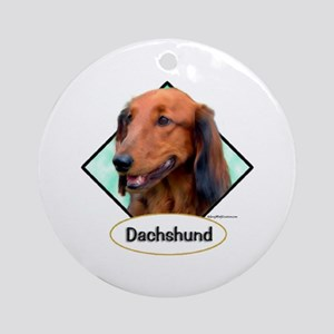 Doxie 4 Ornament (Round)