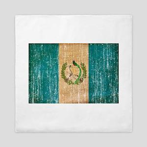 Guatemala Flag Queen Duvet