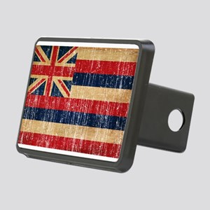 Hawaii Flag Rectangular Hitch Cover