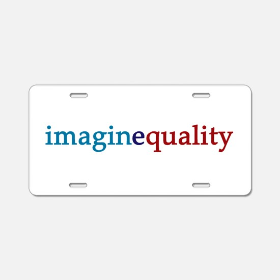 imaginequality - Aluminum License Plate