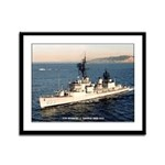 USS HERBERT J. THOMAS Framed Panel Print