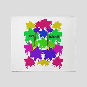 ff art teacher 2 Throw Blanket