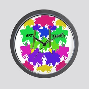 ff art teacher 2 Wall Clock