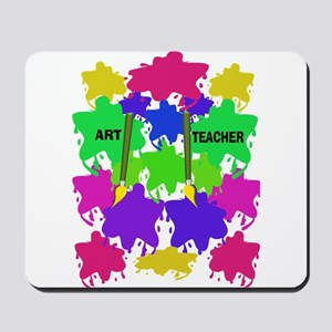 ff art teacher 2 Mousepad