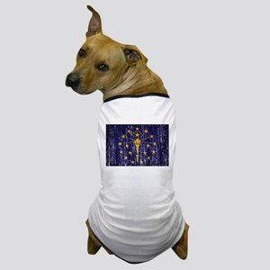 Indiana Flag Dog T-Shirt