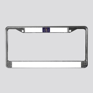 Indiana Flag License Plate Frame