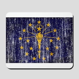 Indiana Flag Mousepad