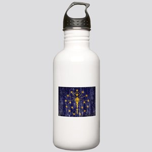 Indiana Flag Stainless Water Bottle 1.0L