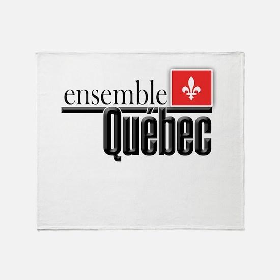 Quebec Ensemble Throw Blanket