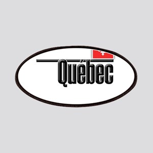 Quebec Red Square Patches