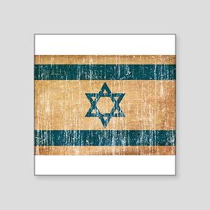 """Israel Flag Square Sticker 3"""" x 3"""""""