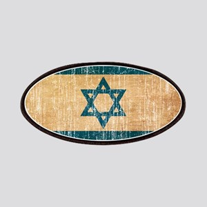 Israel Flag Patches