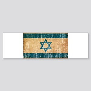 Israel Flag Sticker (Bumper)