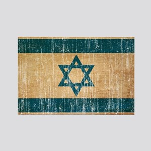 Israel Flag Rectangle Magnet
