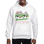 The Lead Cow Hooded Sweatshirt