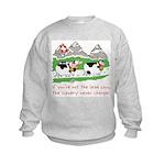 The Lead Cow Kids Sweatshirt