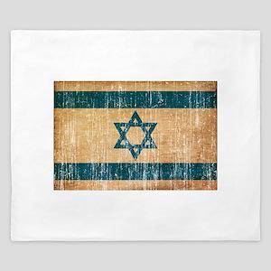 Israel Flag King Duvet