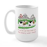 The Lead Cow Large Mug