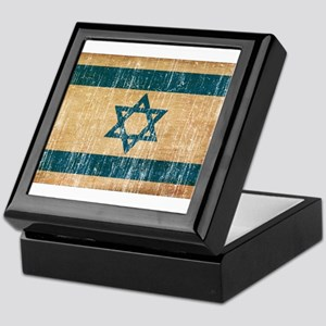 Israel Flag Keepsake Box