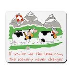 The Lead Cow Mousepad