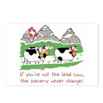 The Lead Cow Postcards (Package of 8)